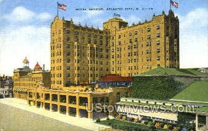 Hotel Seaside - Atlantic City, New Jersey NJ Postcard