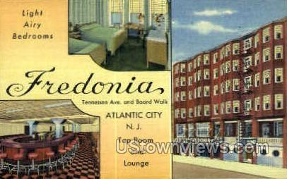 Fredonia, Linen - Atlantic City, New Jersey NJ Postcard