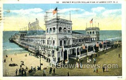Young's Million Dollar Pier - Atlantic City, New Jersey NJ Postcard