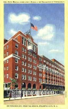 Hotel Morton - Atlantic City, New Jersey NJ Postcard