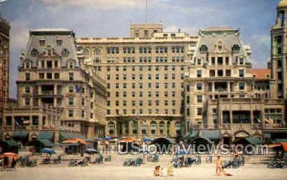 Dennis Hotel - Atlantic City, New Jersey NJ Postcard