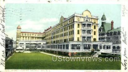 Hotel Traymore - Atlantic City, New Jersey NJ Postcard