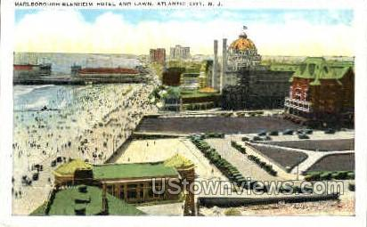 Marlborough Blenheim Hotel - Atlantic City, New Jersey NJ Postcard