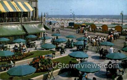 Dennis Hotel Terrace - Atlantic City, New Jersey NJ Postcard