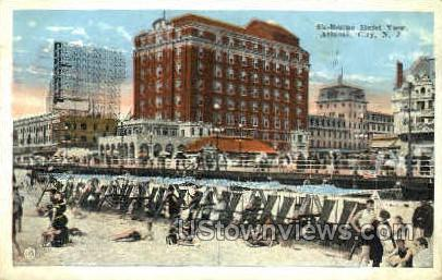 Shelburne Hotel - Atlantic City, New Jersey NJ Postcard