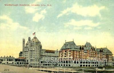 Marlborough Bienheim - Atlantic City, New Jersey NJ Postcard