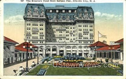 Breakers Hotel - Atlantic City, New Jersey NJ Postcard