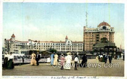 Traymore Hotel - Atlantic City, New Jersey NJ Postcard
