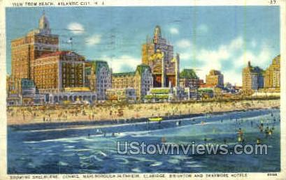 Shelburne, Claridge & Dennis Hotel - Atlantic City, New Jersey NJ Postcard