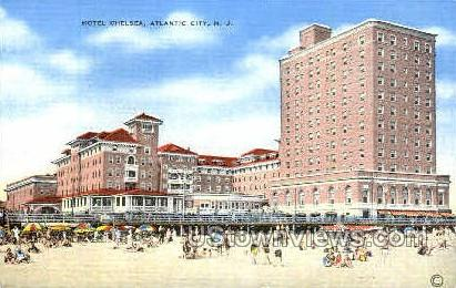 Hotel Chelsea - Atlantic City, New Jersey NJ Postcard