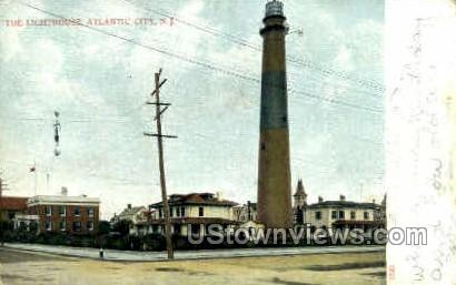 The Lighthouse - Atlantic City, New Jersey NJ Postcard