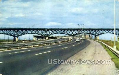 New Jersey Turnpike - Newark Postcard