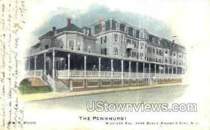 The Pennhurst - Atlantic City, New Jersey NJ Postcard