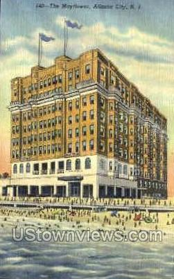 The Mayflower - Atlantic City, New Jersey NJ Postcard