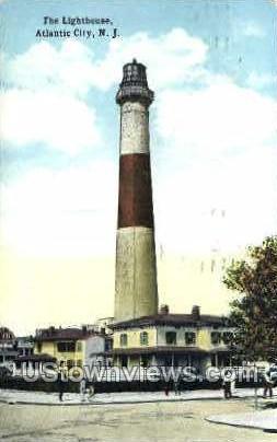 The Lighthouse - Atlantic City, New Jersey NJ Postcard