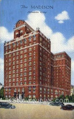 The Madison - Atlantic City, New Jersey NJ Postcard