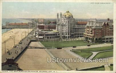 The Marlborough Blenheim - Atlantic City, New Jersey NJ Postcard