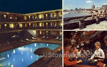 Continental Motel - Atlantic City, New Jersey NJ Postcard