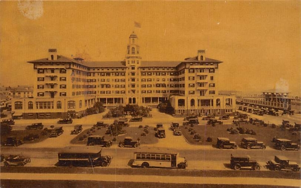 The Monterey Asbury Park, New Jersey Postcard