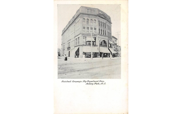 Steinbach Company's Big Department Store Asbury Park, New Jersey Postcard