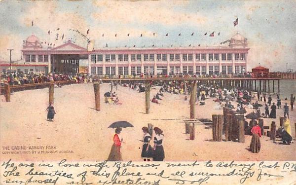 The Casino, Georgian Court College Asbury Park, New Jersey Postcard