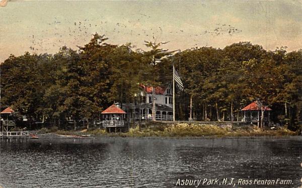 Ross Renton Farm Asbury Park, New Jersey Postcard