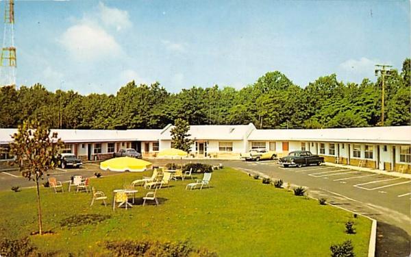 Tower Motel Asbury Park, New Jersey Postcard