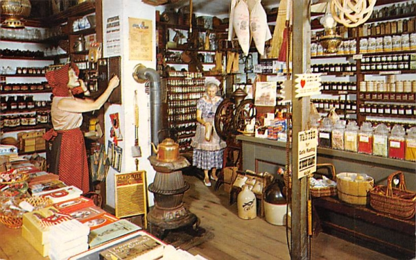Historic Smithville Inn Absecon, New Jersey Postcard
