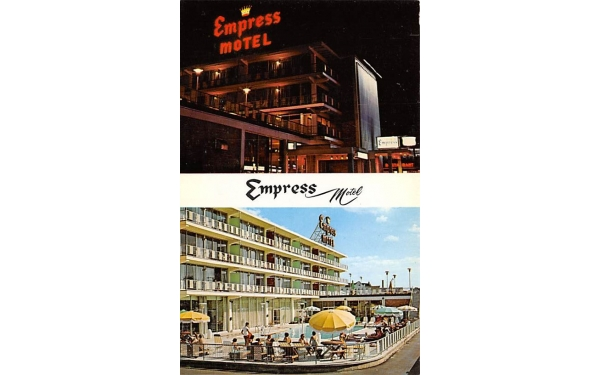 Empress Motel Asbury Park, New Jersey Postcard