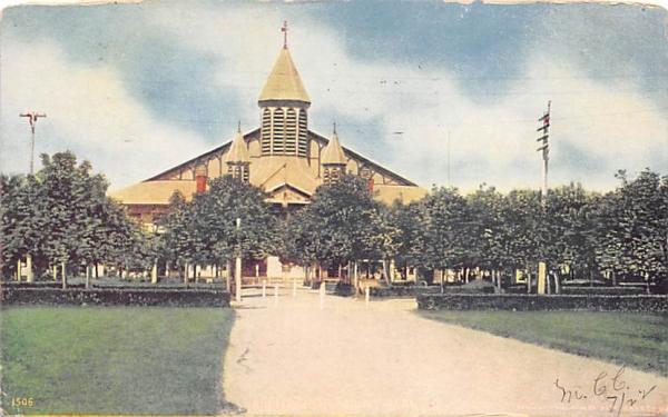 Auditorium Asbury Park New Jersey Postcard