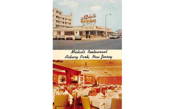Michal's Restaurant Asbury Park, New Jersey Postcard
