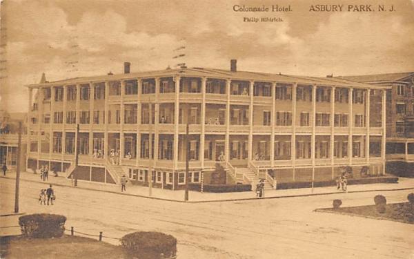 Colonnade Hotel Asbury Park, New Jersey Postcard