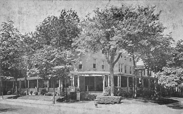 Montauk Hotel Asbury Park, New Jersey Postcard
