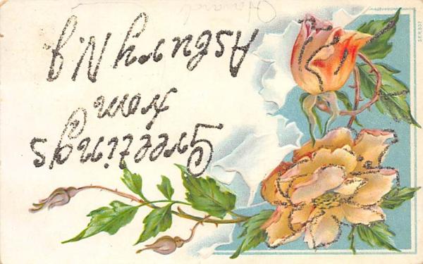 Greetings from Asbury N. J., USA Asbury Park, New Jersey Postcard