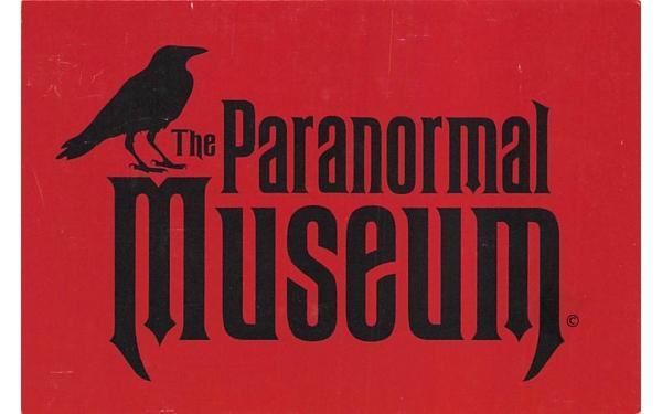 The Paranormal Museum Asbury Park, New Jersey Postcard