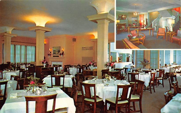 Marine Grill Seafood House Asbury Park, New Jersey Postcard