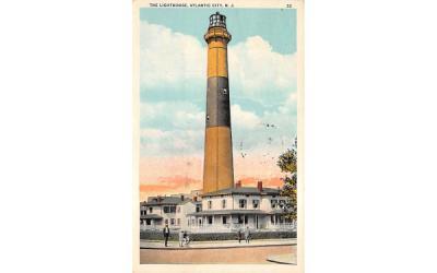 The Lighthouse Atlantic City, New Jersey Postcard