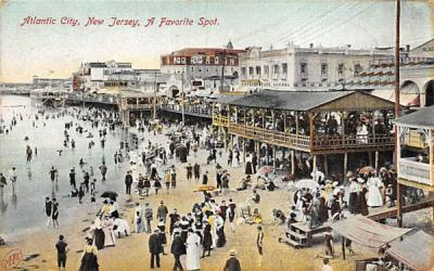 A Favorite Spot Atlantic City, New Jersey Postcard