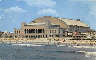 Convention Hall Atlantic City, New Jersey Postcard