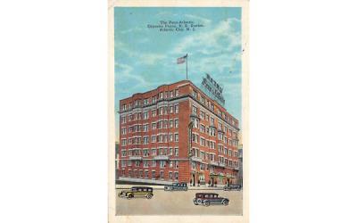 The Penn-Atlantic Atlantic City, New Jersey Postcard