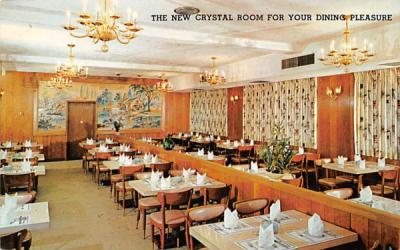 The New Crystal Room for your Dining Pleasure Atlantic City, New Jersey Postcard