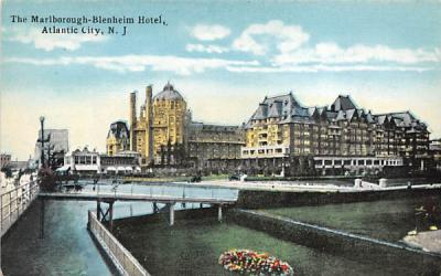 The Marlborough-Blenheim Hotel Atlantic City, New Jersey Postcard