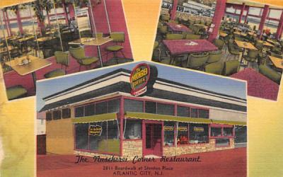 The Nascherei Corner Restaurant  Atlantic City, New Jersey Postcard