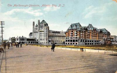 The Marlborough-Blenheim Atlantic City, New Jersey Postcard