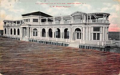 The New Pavilion at 6th Ave. Asbury Park, New Jersey Postcard