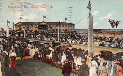 Baby Parade Day Asbury Park, New Jersey Postcard