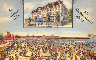 The Pennhurst Atlantic City, New Jersey Postcard