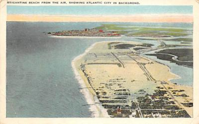Brigantine Beach From The Air Atlantic City, New Jersey Postcard