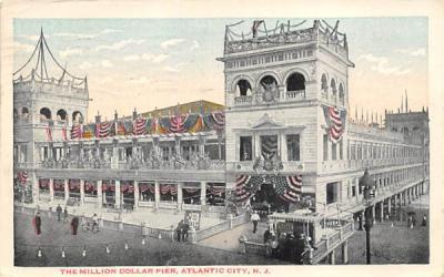 The Million Dollar Pier Atlantic City, New Jersey Postcard