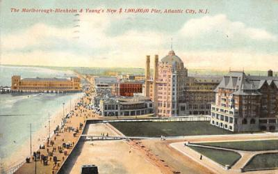 The Marlborough-Blenheim  Atlantic City, New Jersey Postcard